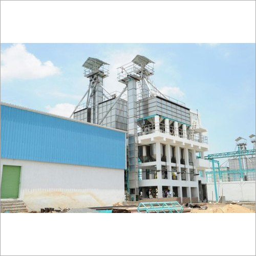 Industrial SS Parboiling And Dryer Plant