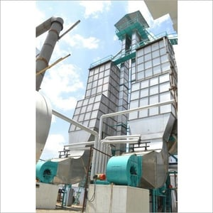 Steamed Paddy Dryer Plant