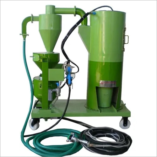 Vacuum Blaster Equipment With Pneumatic Recovery