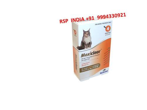 Moxiclear Spot Solution For Large Cats