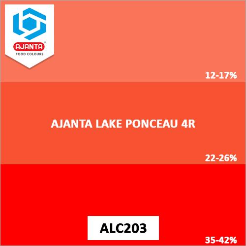 Ajanta Lake Ponceau 4R Colours