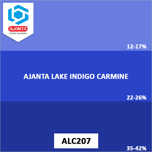 Ajanta Lake Indigo Carmine Colours