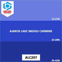 Ajanta Lake Indigo Carmine Colours