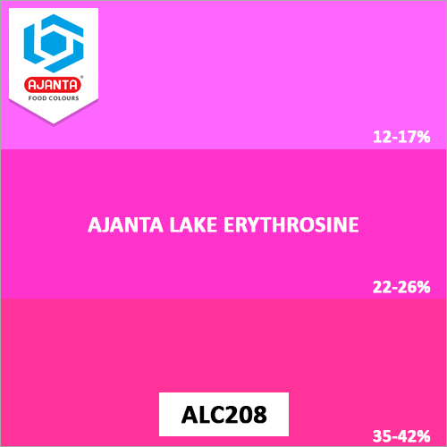 Ajanta Lake Erythrosine Colours