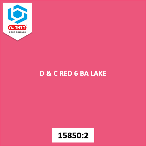 D & C Red 6 BA Lake Cosmetic Colours