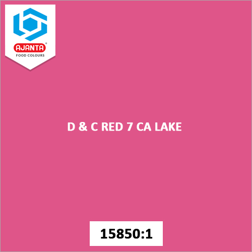 D & C Red 7 CA Lake Cosmetic Colours