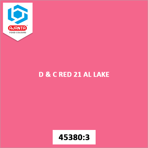 D & C Red 21 AL Lake Cosmetic Colours