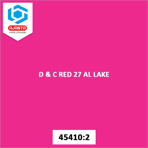 D & C Red 27 Al Lake Cosmetic Colours