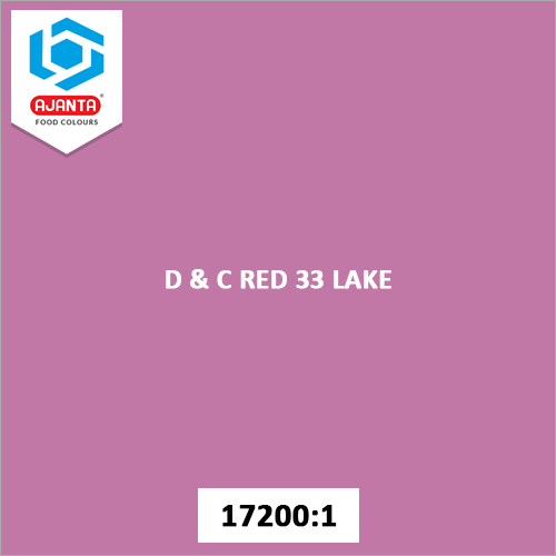 D & C Red 33 Lake Cosmetic Colours