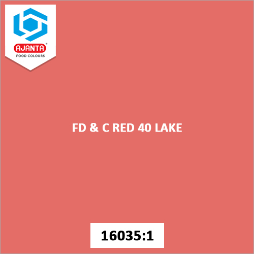FD & C Red 40 Lake Cosmetic Colours
