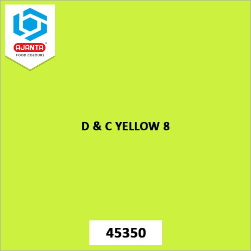 D & C Yellow 8 Cosmetic Colours
