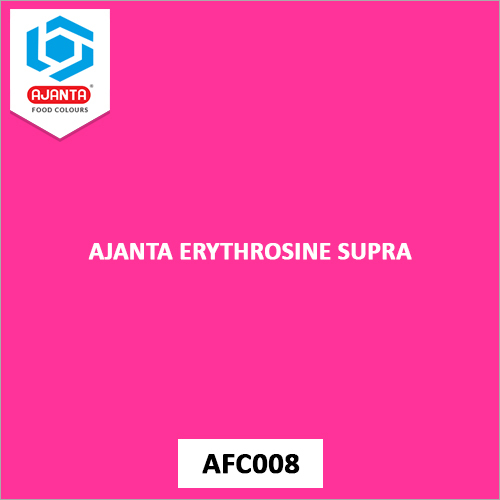 Ajanta Erythrosine Supra Pharmaceutical Colours