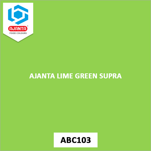 Ajanta Lime Green Supra Pharmaceutical Colours