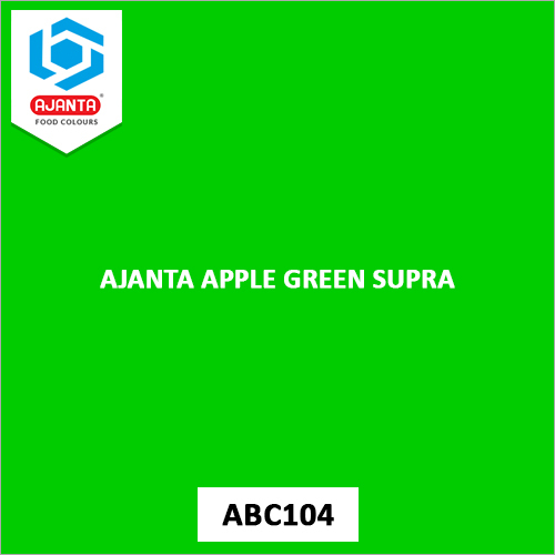 Ajanta Apple Green Supra Pharmaceutical Colours
