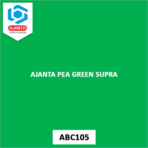 Ajanta Pea Green Supra Pharmaceutical Colours