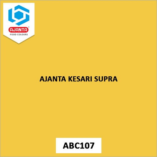 Ajanta Kesari Supra Pharmaceutical Colours