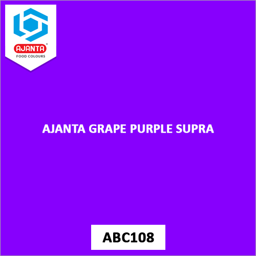 Ajanta Grape Purple Supra Pharmaceutical Colours