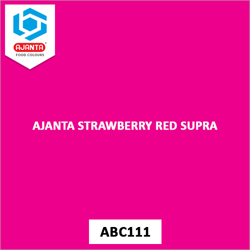 Ajanta Strawberry Red Supra Pharmaceutical Colours