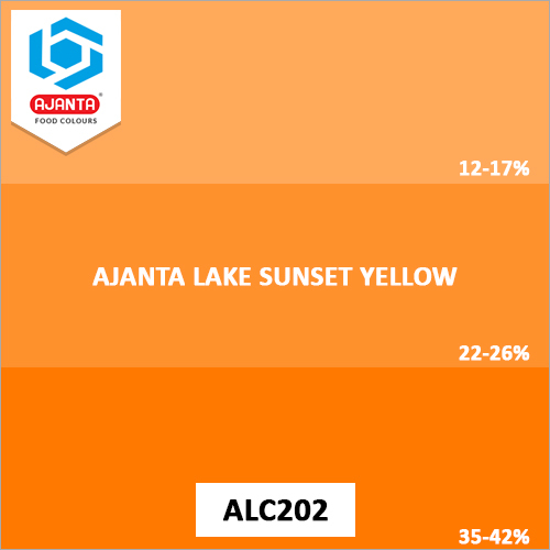 Ajanta Lake Sunset Yellow Pharmaceutical Colours