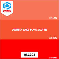 Ajanta Lake Ponceau 4R Pharmaceutical Colours
