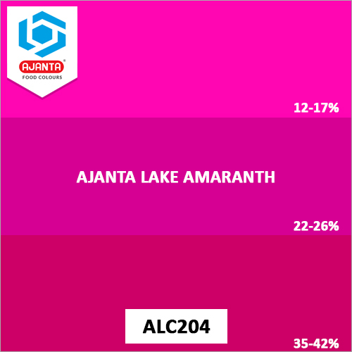 Ajanta Lake Amaranth Pharmaceutical Colours