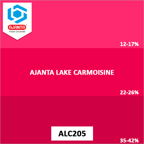 Ajanta Lake Carmoisine Pharmaceutical Colours