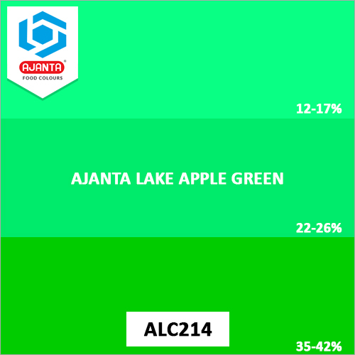 Ajanta Lake Apple Green Pharmaceutical Colours