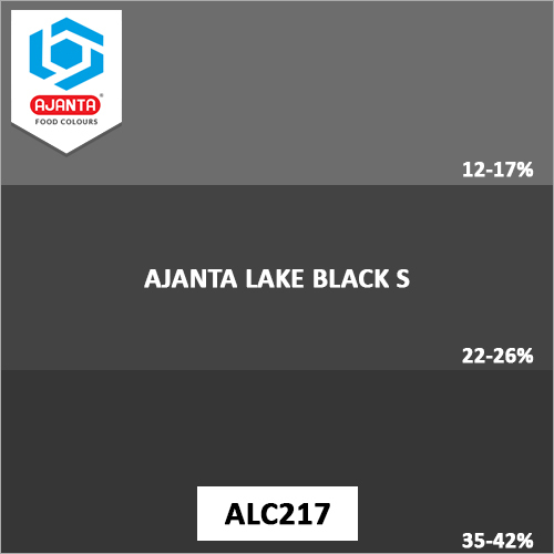 Ajanta Lake Black S Pharmaceutical Colours