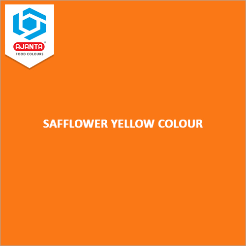 Safflower Yellow Colour
