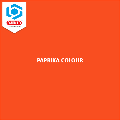 Paprika Colour