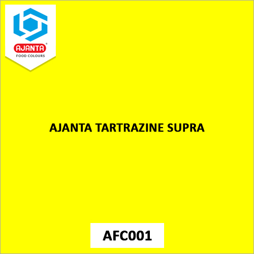 Ajanta Tartrazine Supra Personal & Home Care Products Colours