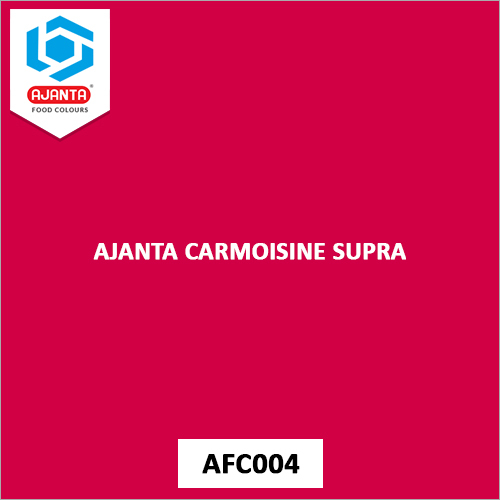 Ajanta Carmoisine Supra Personal & Home Care Products Colours