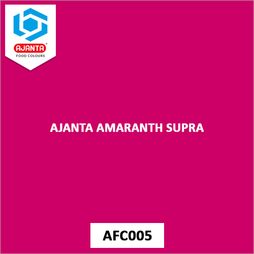 Ajanta Amaranth Supra Personal & Home Care Products Colours