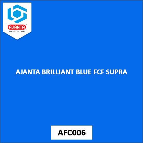 Ajanta Brilliant Blue FCF Supra Personal & Home Care Products Colours