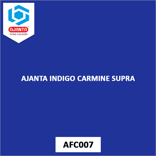 Ajanta Indigo Carmine Colours