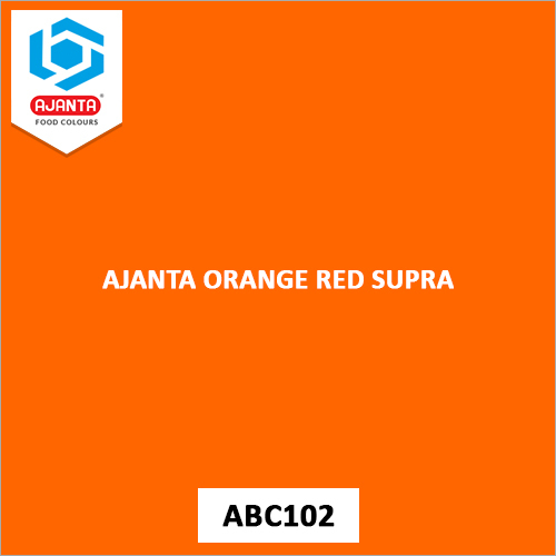 Ajanta Orange Red Supra Personal & Home Care Products Colours