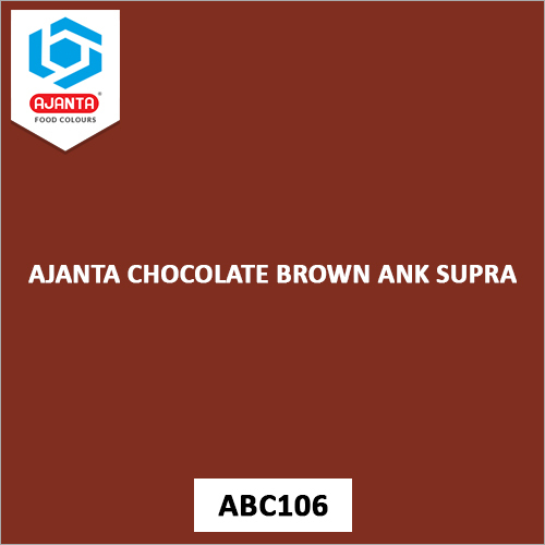 Ajanta Chocolate Brown ANK Supra Personal & Home Care Products Colours