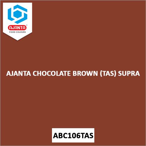 Ajanta Chocolate Brown (TAS) Supra Personal & Home Care Products Colours