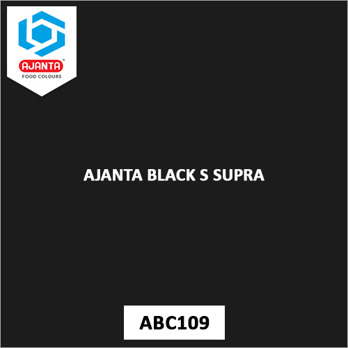 Ajanta Black S Supra Personal & Home Care Products Colours