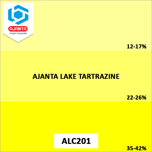 Tartrazine Products Colours