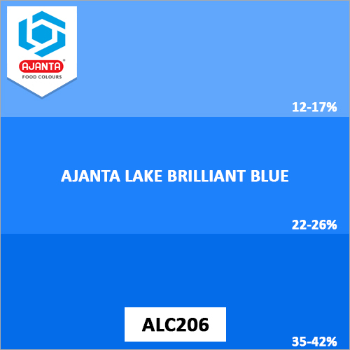 Lake Brilliant Blue Personal Care Products Colours