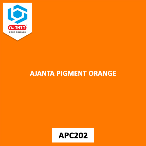 Ajanta Pigment Orange Industrial Colours