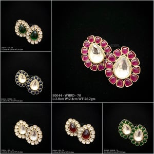 Gold Plated Fashionable Earring