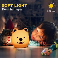 Dog Silicone Night Light LP-06
