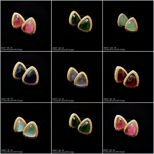 Beautiful Semi Precious Stone Earring