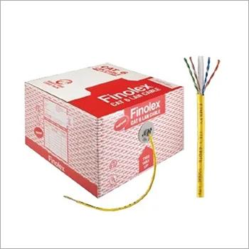 Finolex 0.5x4P UTP CAT-6 LAN * YLW * 305M