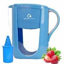 Amrutum Alkaline Water Purifier Pitcher Monsoon Jug  BPA-Free Food Grade Plastic , Korean Mineral Filter