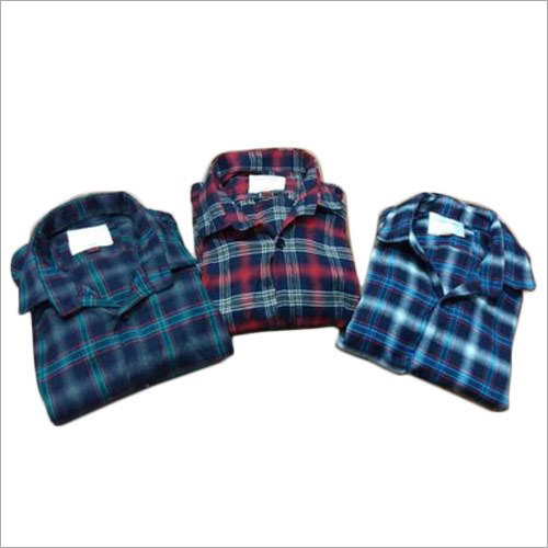 Men Full Sleeves Checked Shirts