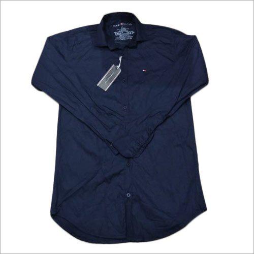 Mens Plain Casual Full Sleeve Shirts
