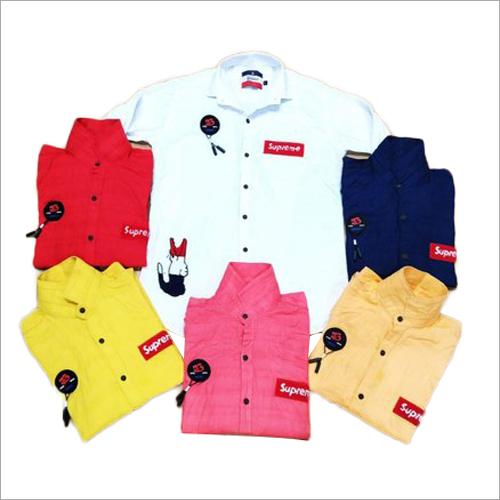 Mens Full Sleeves Plain Shirts